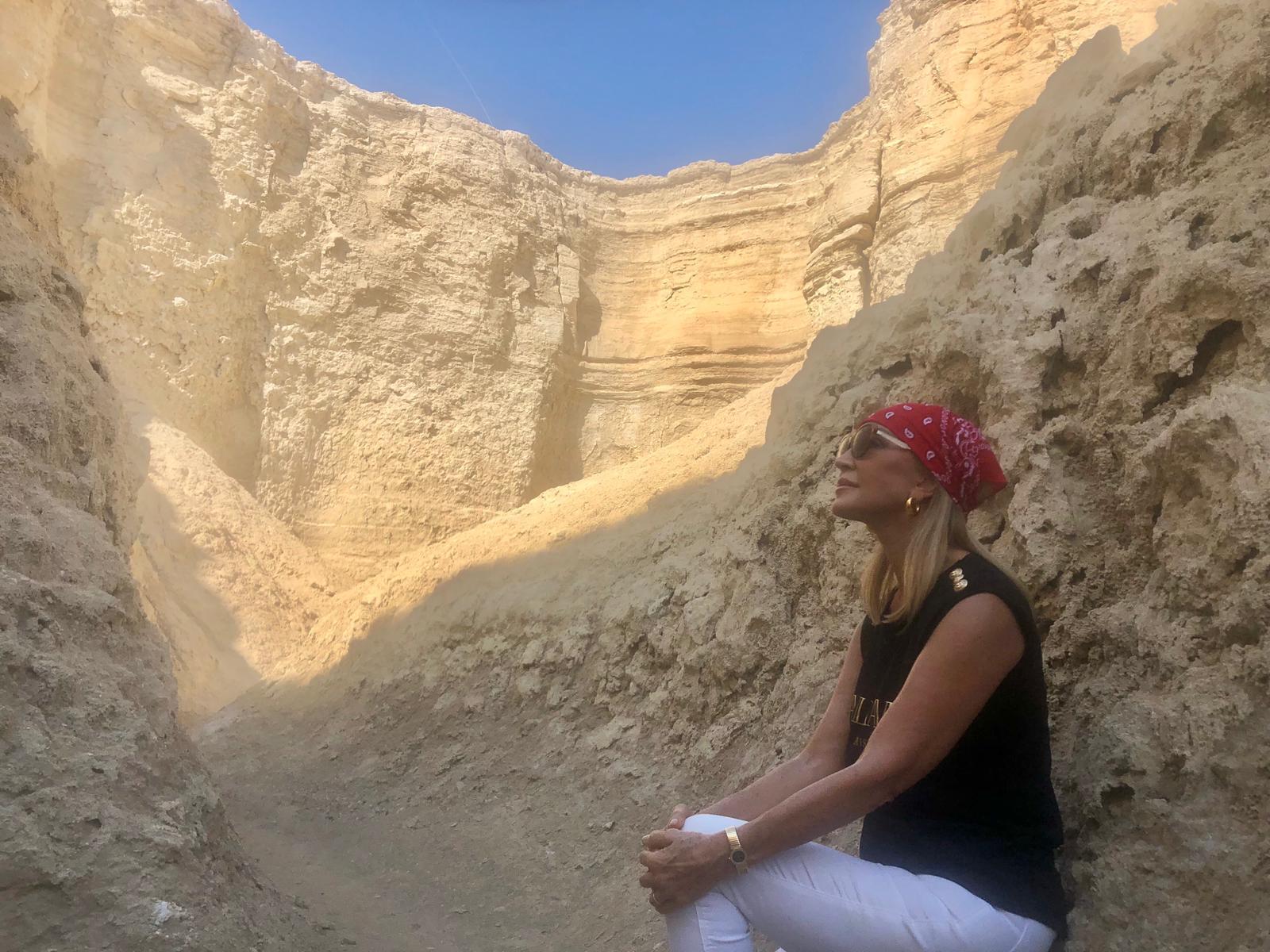 CARMEN LOMANA, DE VIAJE POR ISRAEL DURANTE SUS VACACIONES