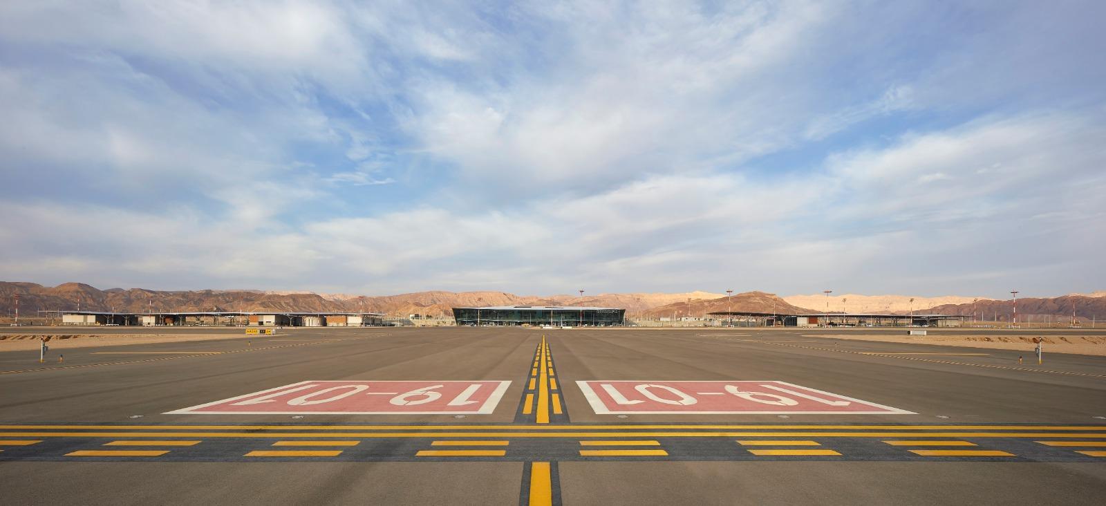 Inaugurado el nuevo aeropuerto internacional de Ilan y Asaf Ramon