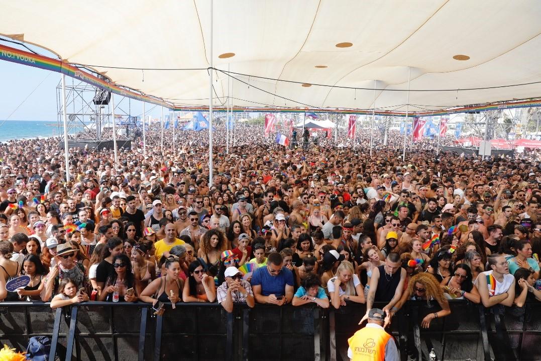 250.000 personas acuden al Gay Pride de Tel Aviv