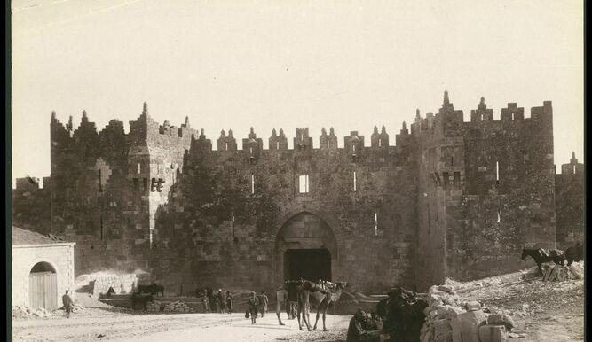 Las primeras fotos de Jerusalén del siglo XIX