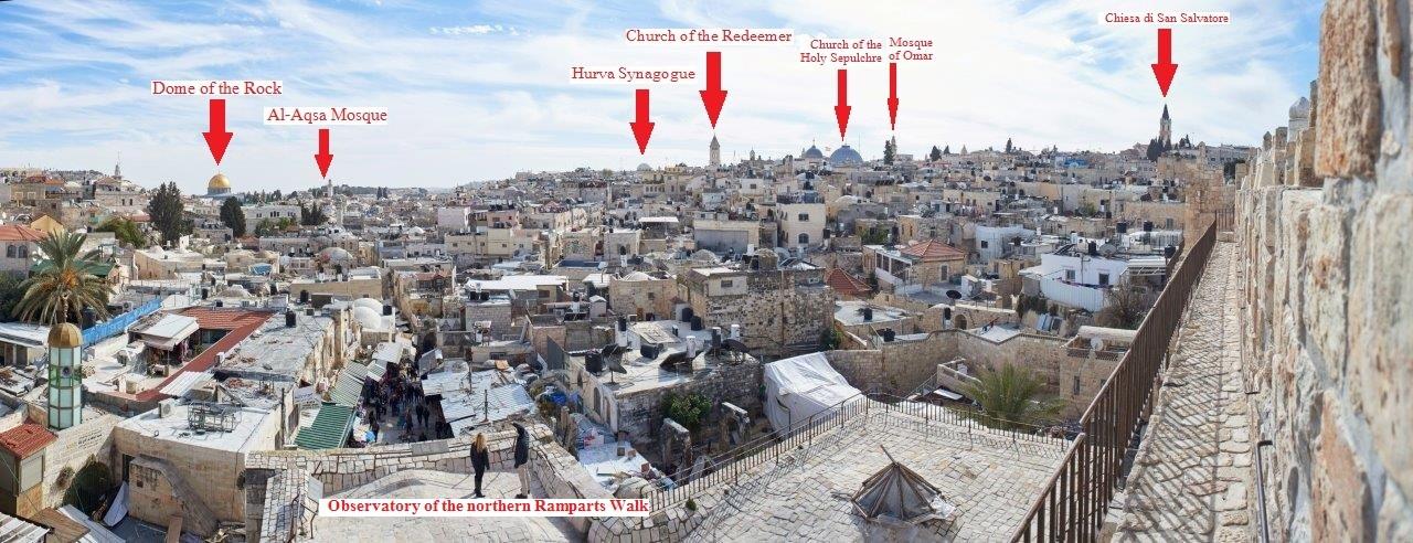 Abierta una nueva sección de las Murallas de la Ciudad Vieja de Jerusalén