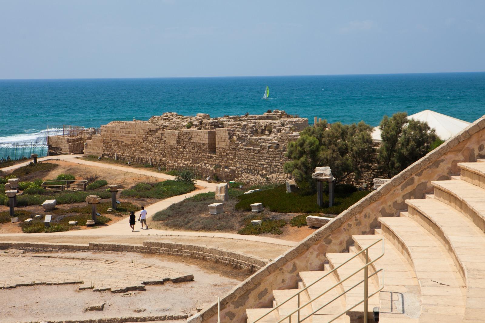 La ciudad de Cesarea: entre los mejores destinos a los que viajar en 2020