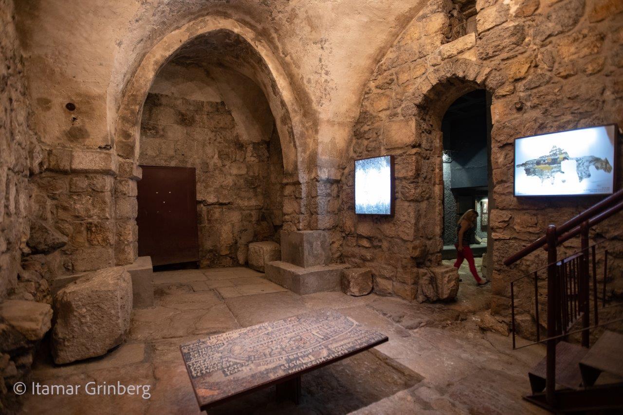 Abierta al público una antigua plaza romana en Jerusalén