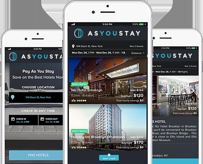 La startup israelí As You Stay, una aplicación que se ajusta a las necesidades del viajero