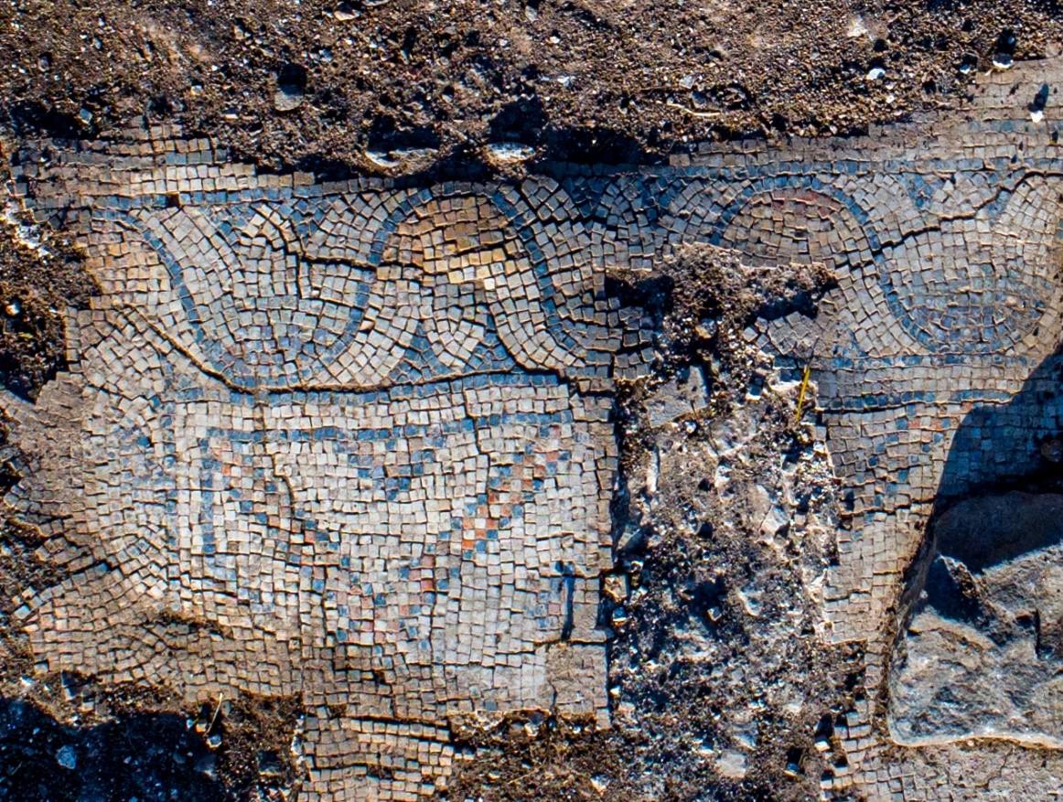Una iglesia de 1.300 años de antigüedad, descubierta en un pueblo cerca del monte Tabor