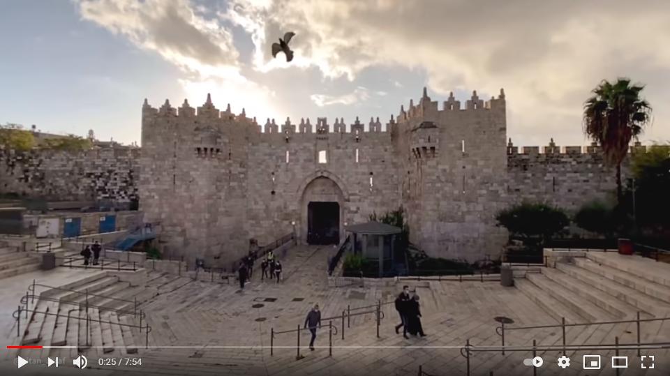 El Ayuntamiento de Jerusalén presenta una nueva película sobre la ciudad