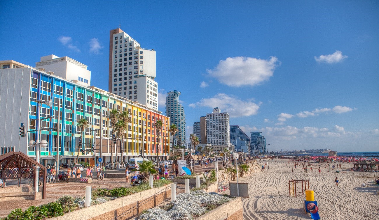 Tel Aviv, preparada para recibir a los turistas con la reapertura de las rutas aéreas