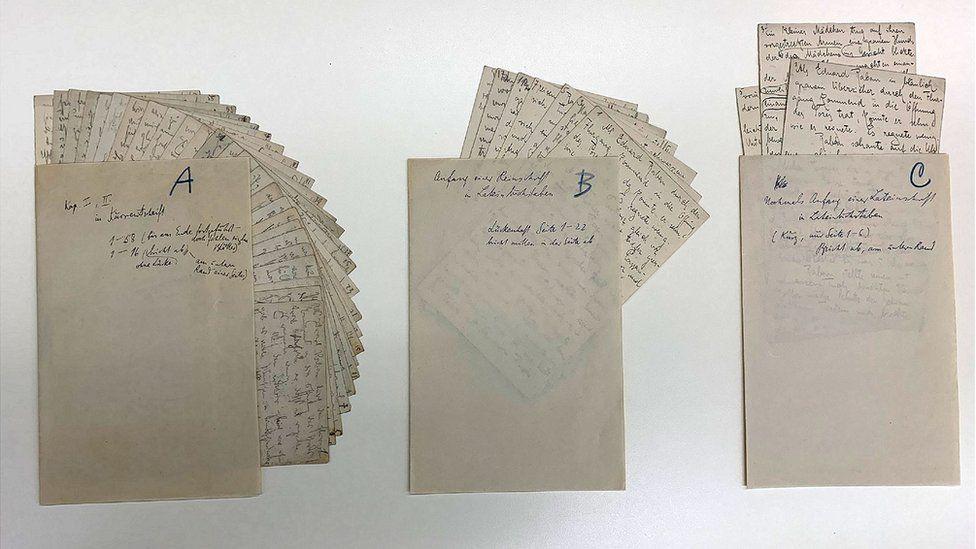 Israel exhibe escritos y dibujos nunca antes vistos de Kafka