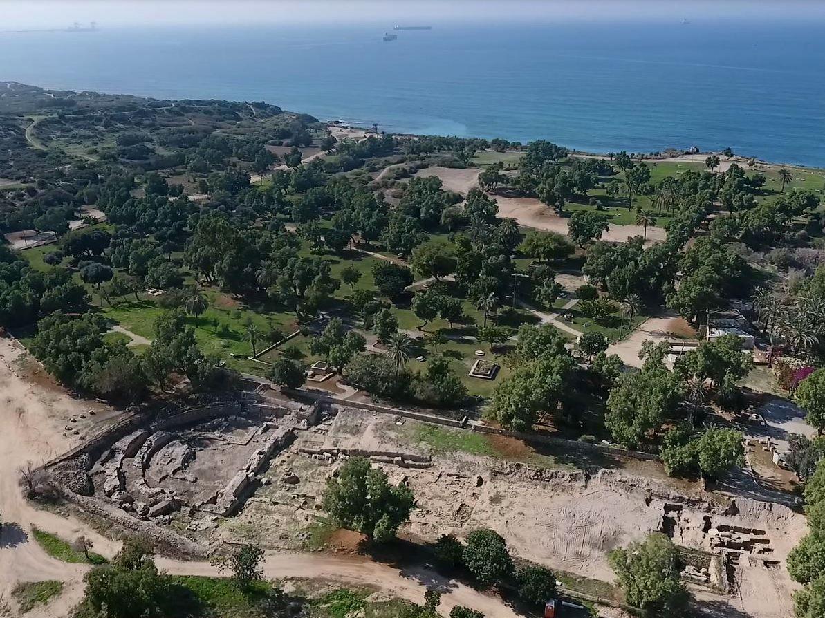El Parque Nacional de Ashkelon revela los restos de una basílica de 2.000 años de antigüedad
